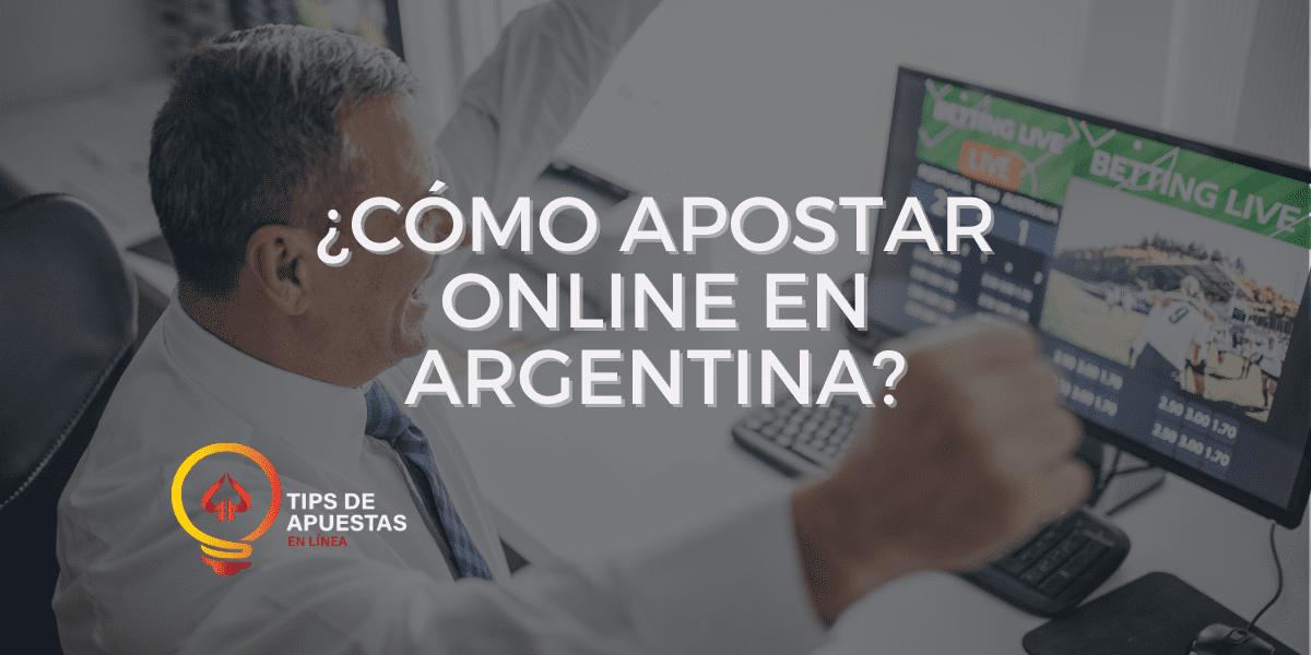 ¿Cómo apostar online en Argentina?
